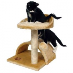 CAT TREE FOR KITTENS VITORIA BEIGE 50cm - Click for more info