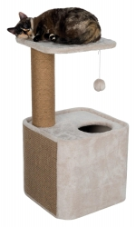 LISANN SCRATCH POST 78CM LIGHT TAUPE/BWN - Click for more info