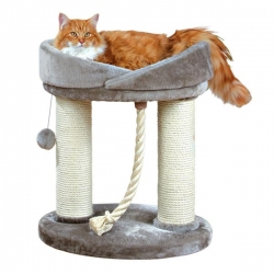 MARCELA SCRATCHING POST 60CM GRY - Click for more info
