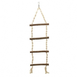 NATWOOD ROPE LADDER 4 RUNGS 85CM - Click for more info