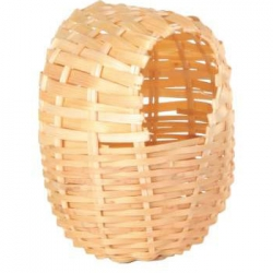 EXOTIC BAMBOO BIRD NEST 10X9CM - Click for more info
