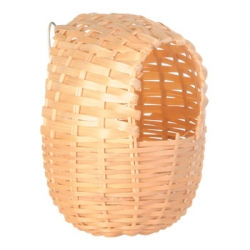 EXOTIC BAMBOO BIRD NEST 12X11CM - Click for more info