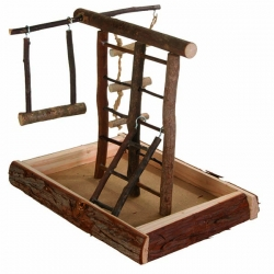 NATWOOD BIRD PLAYGROUND 28X25X22CM - Click for more info