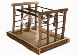 NATWOOD BIRD PLAYGROUND 35X29X25CM - Click for more info