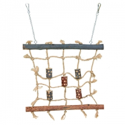 NATWOOD ROPE CLIMBING WALL 27X24CM - Click for more info