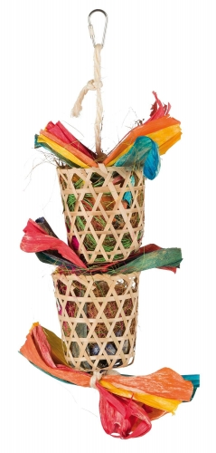 TOY WITH NATURAL NESTING MATERIALS 35CM - Click for more info