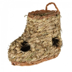 GRASS SHOE TUNNEL FOR HAMSTERS 18X12CM - Click for more info