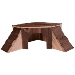 NATWOOD GPIG PLAYHSE THORDIS 37X15X37CM - Click for more info