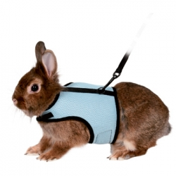 SOFT RODENT HARNESS FOR RABBITS - Click for more info