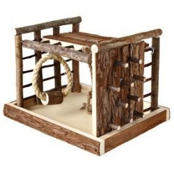 NATWOOD RODENT PLAYGRND LASSE 29X19X19CM - Click for more info