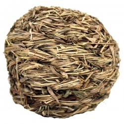 GRASS BALL WITH BELL  10CM - Click for more info