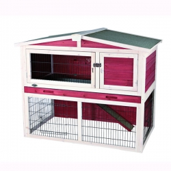 NATURA HUTCH W OUTDOOR RUN124X102X78CM - Click for more info