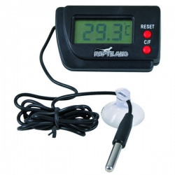 DIGITAL THERMOMETER W/REMOTE SENSOR - Click for more info