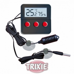 DIG THERMO-HYGROMETER W/REMOTE SENSOR - Click for more info