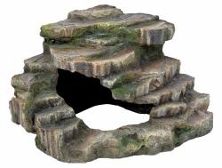 CORNER ROCK W/CAVE/PLATFORM 26X20X26CM - Click for more info
