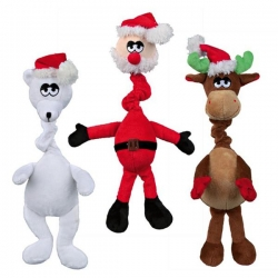 ASST SANTA CLAUS, POLAR BEAR AND REINDEE - Click for more info