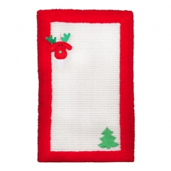 SCRATCHING MAT PLUSH 55X35CM RED - Click for more info
